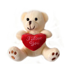 factory direct teddy bear with heart,stuffed&plush toy animal