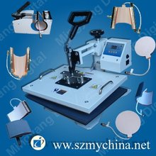 popular model 8 in 1 combo heat press machine with CE