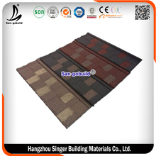 Sand Coated Metal Roof Tile For Beautiful House