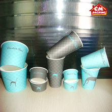 ice cream need packing paper cup anti-cold paper cup
