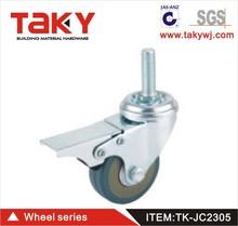 Tk-jc2305 25~30kg passeggino ruote in gomma colata continua