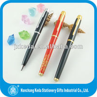 2014 Low price high quality Black Metal Parker Gel Pen Refill For Promotion