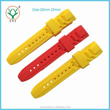 Bend Head with a Hard Particle 20mm High Quality Watch Band Wholesale
