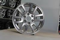 18inch factory cheap price chrome/silvery aluminum alloy wheel rim/car rim