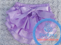colorful short pants purple beautiful cute baby bloomers for baby girl 0-3 years