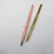 promotional pen,Very hot selling ---High quality slim metal ball pen/popular hotel pen facory sale prompt delivery TS-p00079