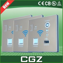 China Wall router equipment to provide WiFi services