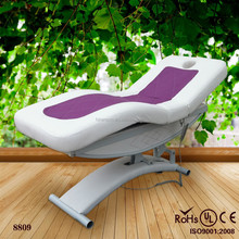 2014 wholesale solid wood facial table / electric solid wood massage table for sale (KZM-8809)