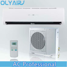R410a 7kw ac 220V/50HZ cooling and heating wall split mounted air conditioner
