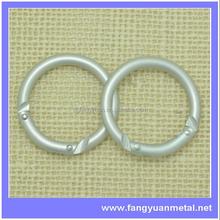 fashion bag accessory cheap metal handbag O ring