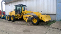 GOOD QUALITY LIUGONG CLG418 MOTOR GRADER WITH FRONT BLADE