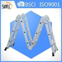Aluminium multi purpose ladder ladder barrel for pilates