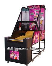 2015 USA hot sale popular arcade basketball machine game
