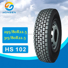 295/80R22.5 all steel radial truck tire manufacturer