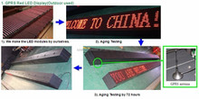 led moving message display sign /Rechargeable LED Moving Sign Table Mini LED Display