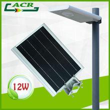 12w soalr garden light CE/FC/ROHS/IP65 certificats