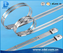 High Quality UL Ladder 304ss Stainless Steel Cable Ties