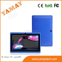 """Q8 7"""" 8G A23 Dual Core Android 4.2 Tablet Capacitive 0.3+0.3mp camera Blue"""