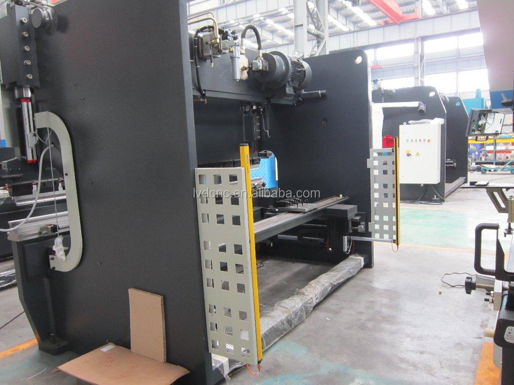 Lvd-cnc WC67K-100T / 3200 листового металла с чпу гидравлический гибочный станок