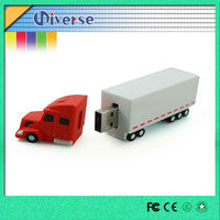 Most popular truck shaped flash drive usb with free logo