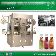 New design Double Head Mineral Water Shrink Sleeve Labeling Machine