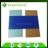 Greenbond brush finished aluminum composite panel for exterior building materials