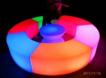 LED light bar Hotel club fashion furniture combination Creative decoration furniture
