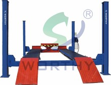 W-435D special for wheel aligner used 4 post car lift for sale