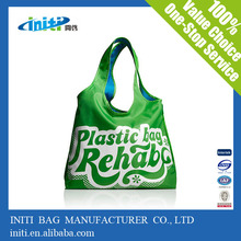 Wholesale 210D Cheap Recycle Foldable Shopping Bag