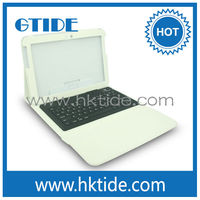 Gtide white color leather case bluetooth 3.0 silicone keyboard for ipad air innovative products