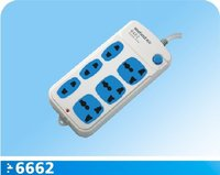 6 outlet power strip with main switch
