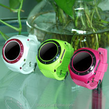 2015 GPS tracker watch phone for Kids waterproof two communication with bluetooth