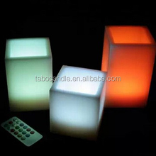 color changing Cube LED Candles