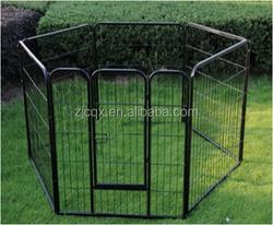 hot sale foldable steel dog playpen dog fence