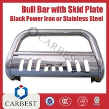 High Quality Stainless Steel Bull Bar With Skid Plate 3'' Inch for SUV or Truck