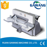 High Speed 10.4 Inch Computerized Hydraulic Programming Automatic Paper Cut Machine