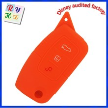 Custom car key silicone protective case for remote control with high quality