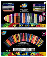30 color glitter glue