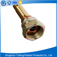 Stainless steel flange hydraulic thread hose fittings and male connector