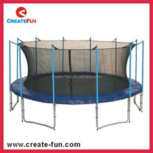 CreateFun Big Round Outdoor Cheap Trampoline with Spring Cover Pad