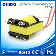 Etd44-02 núcleo dividido transformador de corriente, Horizontal tipo de soldadura transformador