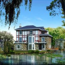 prefabricated luxury villa , prefab villa house design ,prefab steel bungalow