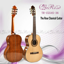 36 inch wholesale back side walnut solid classical guitar