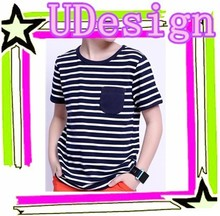 O neck yarn dyed cheap kids tshirts factory price 100 cotton kids tshirts cheap striped kids fashion tshirts