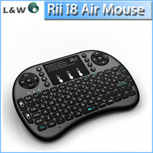 2.4G wireless rii I8 air mouse touch pad mini keyboard