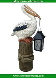 White Pelican sculpture for sale
