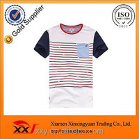 Mens fashion wholesale raglan boy kids striped t shirt