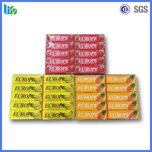 Europe fold wrapper glucose free halal chewing gum
