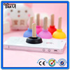 Cute Silicone Mobile support/funny cell phone holder for desk/silicone mobile phone stand