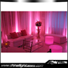 Pink Color Wedding Stage decoration Aluminum backdrop stand pip drape